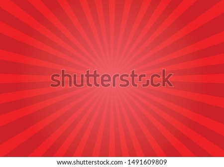 red shiny starburst background