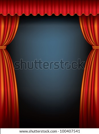 Purple stage curtains - Gallery For Gt Red Stage Curtains