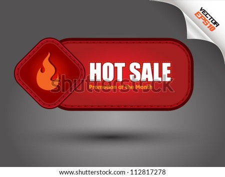 Red tag hot sale