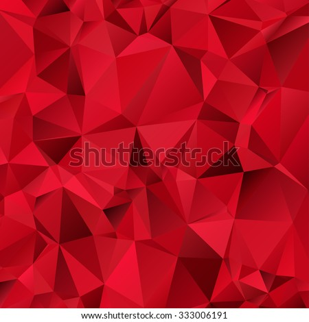 red triangle abstract