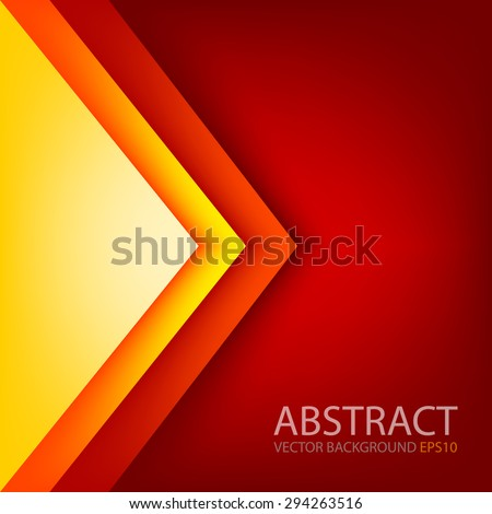 red triangle background vector