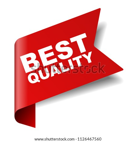 red vector banner best quality