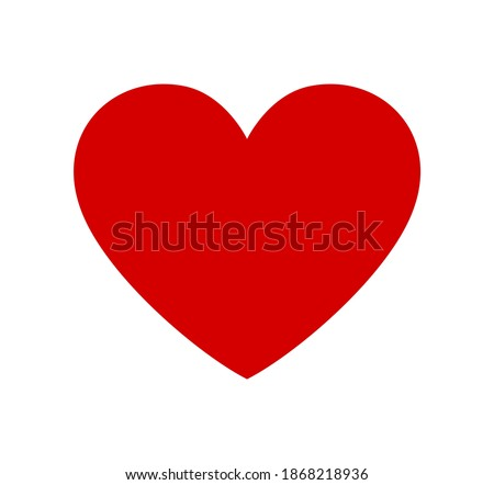 Red vector heart shape stencil silhouette drawing isolated on white background. Love symbol. Decor. Decoration. Wedding icon. Valentine's day. Card. Plotter cut. Laser cutting. Holidays. Gift. Passion