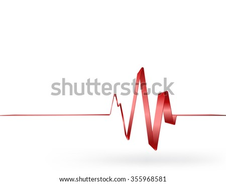 Shutterstock puzzlepix red vital sign with ribbon ccuart Images