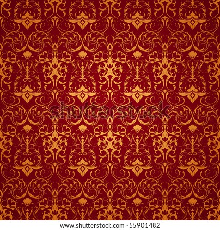 Backgrounds on Red Wallpaper Pattern  Seamless Stock Vector 55901482   Shutterstock