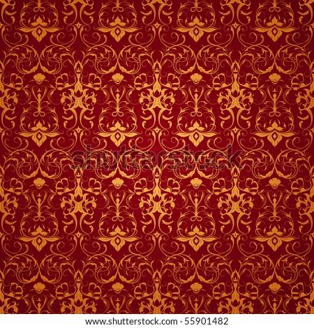 Backgrounds on Red Wallpaper Pattern  Seamless Stock Vector 55901482   Shutterstock