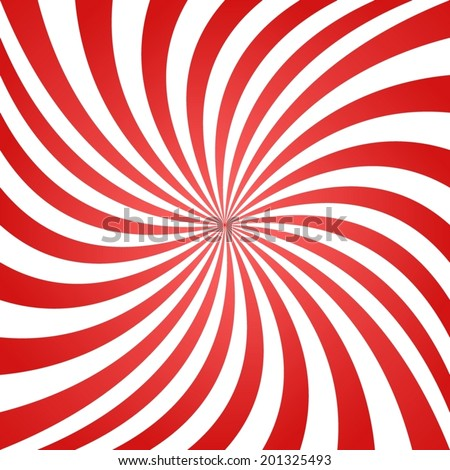 red white summer spiral ray