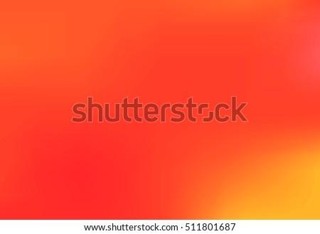red yellow orange blurred