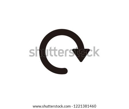 Redo arrow icon sign symbol