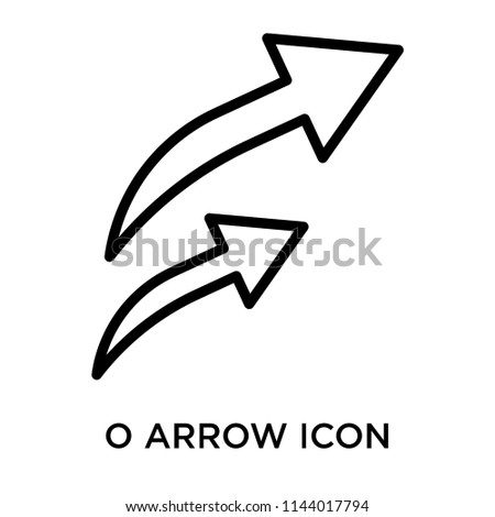 Redo Arrow icon vector isolated on white background for your web and mobile app design, Redo Arrow logo concept