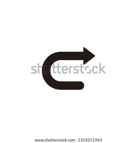 Redo, arrow next icon sign symbol
