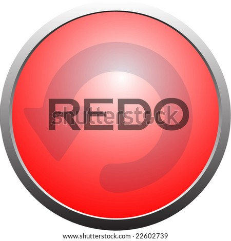 Http Www Shutterstock Com Pic 22602739 Stock Vector Redo Button With Arrow Html