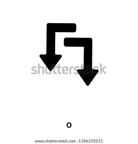 Redo icon vector isolated on white background, logo concept of Redo sign on transparent background, filled black symbol
