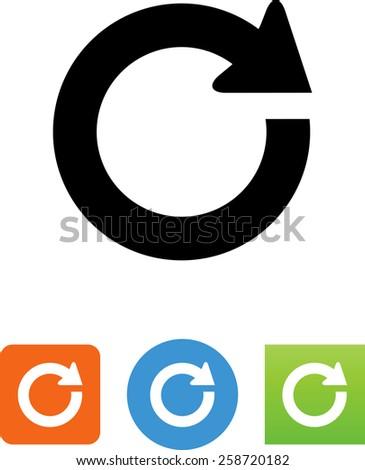redo   refresh symbol