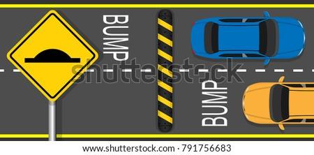 FREE IMAGE: Speed Bumps And Crosswalk - Libreshot Public ...