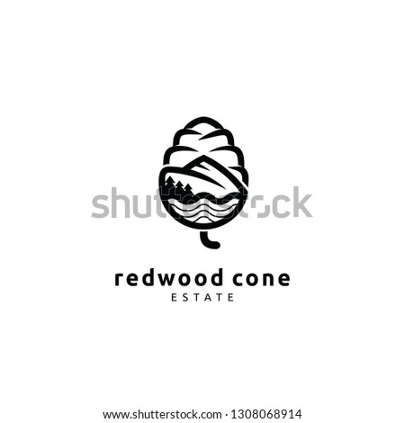 redwood cone estate logo