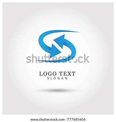 Refresh Symbol & Icon Logo Vector Template