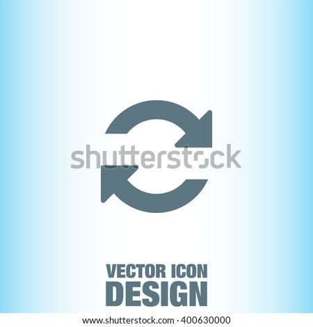 refresh vector icon