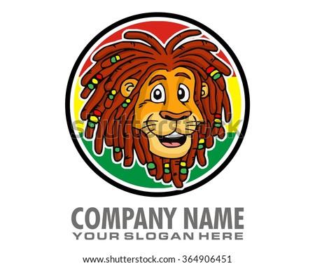 reggae lion logo