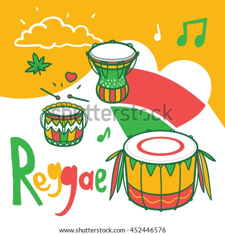 reggae music composition with