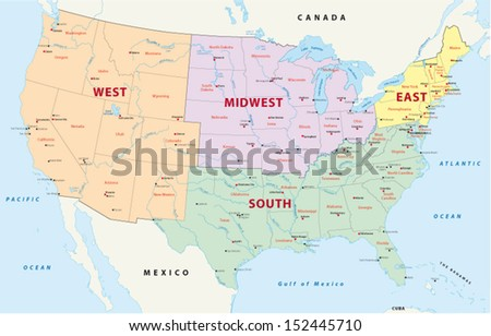 regions of the united states #152445710
