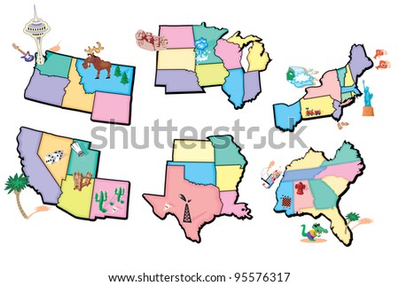 Regions of the USA Mag