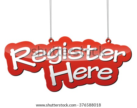 register here  red vector