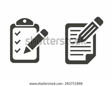 Registration icon Stockfoto ©