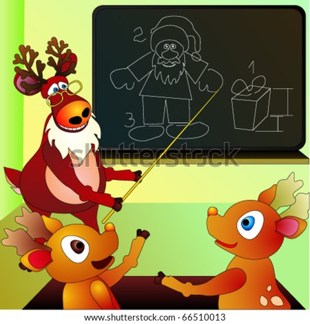 Reindeer's school