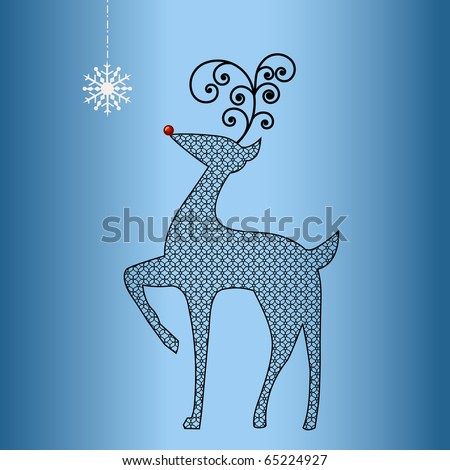 Reindeer Antlers Pattern Free Patterns