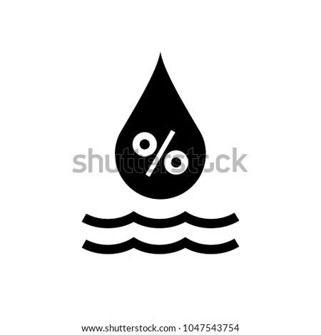 Relative humidity symbol