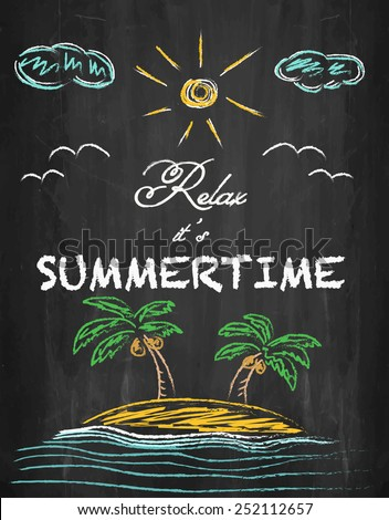 relax it's summertime   palm