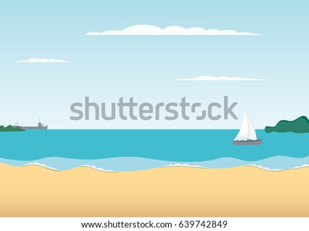 relax vector background summer
