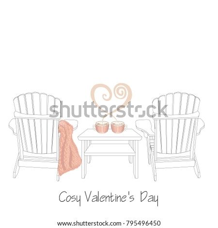 relaxed home saint valentine's
