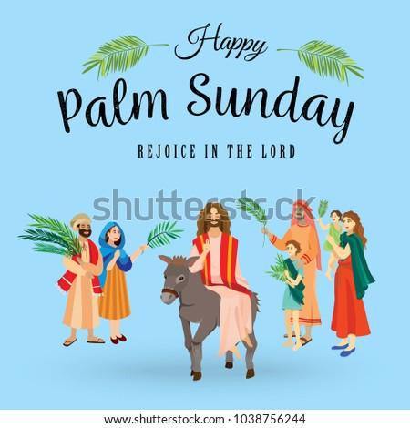 religion holiday palm sunday