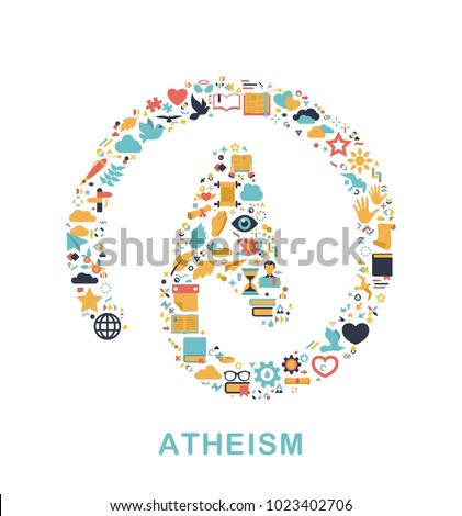 religion icons are grouped in