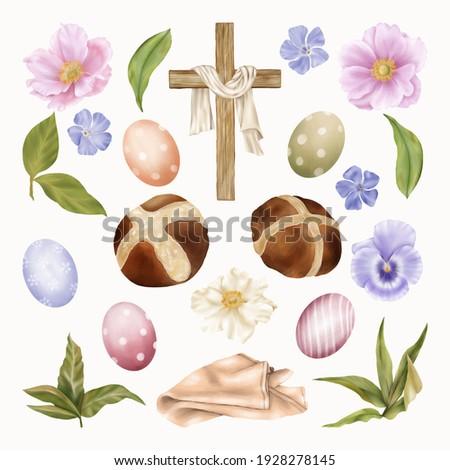 religious easter clipart cross