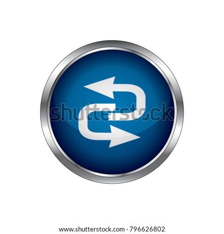 Reload Icon, Vector Refresh icon, vector Reload icon.