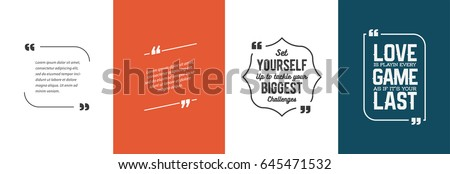 remark quote template bubble