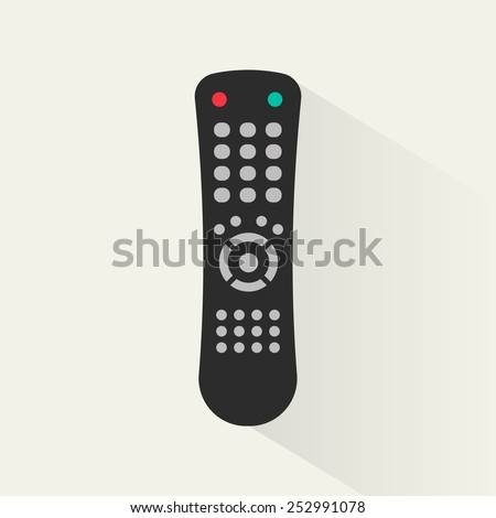 Remote control icon, vector