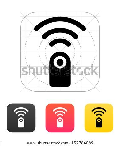 Remote control icon. Vector illustration.