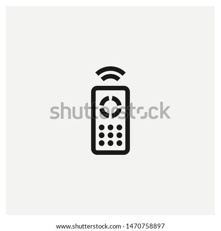 remote control icon vector sign illustration Stock photo ©