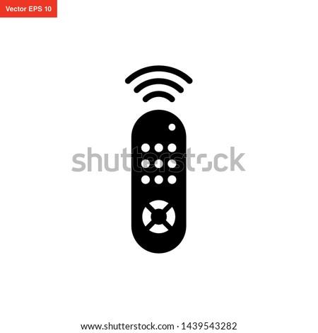 remote control TV icon vector design Stock photo ©
