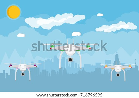 remote controlled aerial drone
