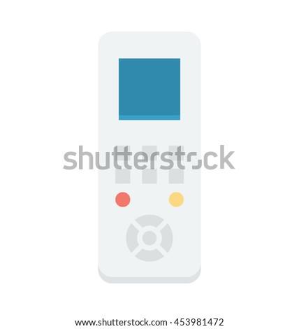 Remote Vector Icon