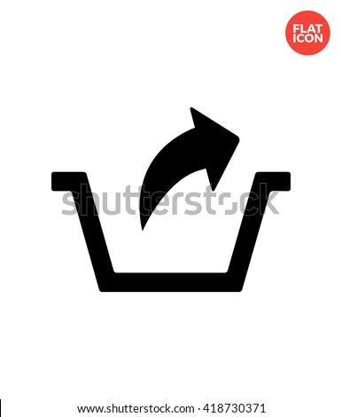 Remove Icon Flat Style Isolated Vector Illustration