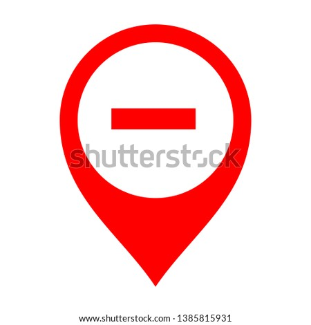 remove pin location vector. subtract sign.