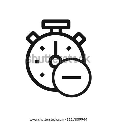 Remove Time Icon