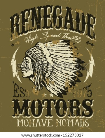 renegade motors vintage design...