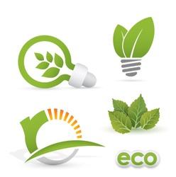 renewable energy designs (eco icons)